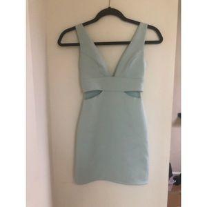 Topshop Dresses - Topshop Petite Mint Bodycon Dress Size 0